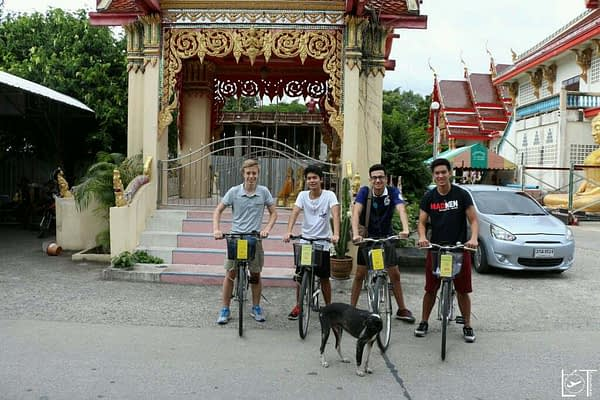Bycicle tour in Bankok with Pitcher and his friends. Something I would have never done on my own.